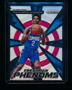 Scan of 2018-19 Panini Prizm 15 Shai Gilgeous-Alexander NM-MT+
