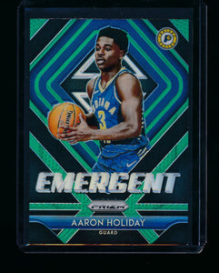 Scan of 2018-19 Panini Prizm 23 Aaron Holiday NM-MT+