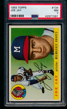 Load image into Gallery viewer, Scan of 1955 Topps 134 Joe Jay PSA 7 NM