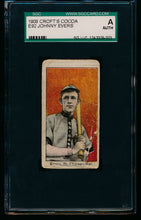 Load image into Gallery viewer, Scan of 1909 E92 Croft's Cocoa  Johnny Evers SGC Authentic