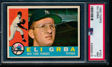 Load image into Gallery viewer, Scan of 1960 Topps 183 Eli Grba PSA 7 NM