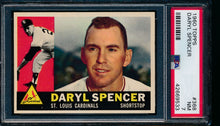 Load image into Gallery viewer, Scan of 1960 Topps 368 Daryl Spencer PSA 7 NM