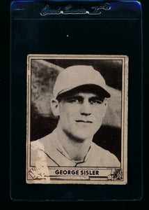 Scan of 1940 Play Ball 179 George Sisler P