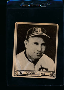 Scan of 1940 Play Ball 187 Jimmy Dykes MG VG (MK)