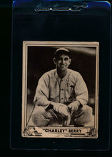 Load image into Gallery viewer, Scan of 1940 Play Ball 190 Charley Berry P