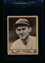 Load image into Gallery viewer, Scan of 1940 Play Ball 194 Sam Chapman RC G/VG