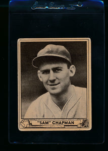 Scan of 1940 Play Ball 194 Sam Chapman RC G/VG