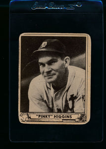 Scan of 1940 Play Ball 199 Pinky Higgins G