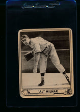 Load image into Gallery viewer, Scan of 1940 Play Ball 202 Al Milnar RC G