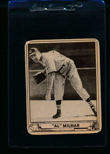 Scan of 1940 Play Ball 202 Al Milnar RC G