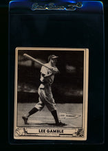 Load image into Gallery viewer, Scan of 1940 Play Ball 208 Lee Gamble RC VG