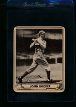 Load image into Gallery viewer, Scan of 1940 Play Ball 213 John Rucker RC G