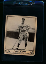 Load image into Gallery viewer, Scan of 1940 Play Ball 216 Joe Marty RC G