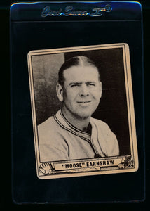 Scan of 1940 Play Ball 233 George Earnshaw VG