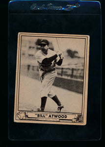 Scan of 1940 Play Ball 240 Bill Atwood RC G
