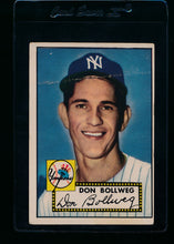 Load image into Gallery viewer, Scan of 1952 Topps 128 Don Bollweg G