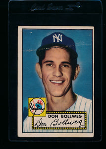 Scan of 1952 Topps 128 Don Bollweg G