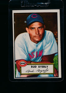 Scan of 1952 Topps 161 Bud Byerly VG-EX