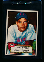 Load image into Gallery viewer, Scan of 1952 Topps 161 Bud Byerly G/VG