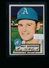 Load image into Gallery viewer, Scan of 1952 Topps 182 Billy Hitchcock VG-EX