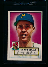 Load image into Gallery viewer, Scan of 1952 Topps 236 Ed Fitzgerald EX