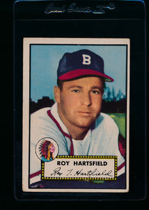 Scan of 1952 Topps 264 Roy Hartsfield VG