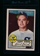 Load image into Gallery viewer, Scan of 1952 Topps 303 Harry Dorish EX