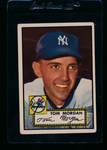 Scan of 1952 Topps 331 Tom Morgan G