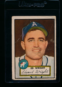 Scan of 1952 Topps 368 Ed Wright P