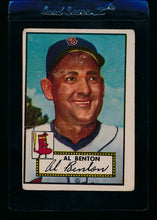 Load image into Gallery viewer, Scan of 1952 Topps 374 Al Benton F