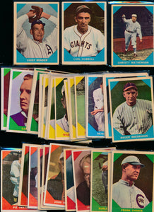 Scan of 1960 Fleer   Set Builder Lot (mixed grade)