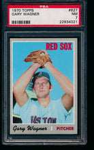 Load image into Gallery viewer, 1970 Topps  627 Gary Wagner  PSA 7 NM 13750
