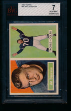 Load image into Gallery viewer, Scan of 1957 Topps 65 Art Donovan BVG 7 NM