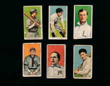 Load image into Gallery viewer, Scan of 1909 T206  Barbeau Elberfeld Delehanty Casey Magee Pfeister Low Grade