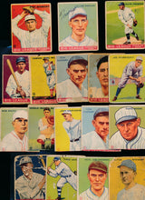 Load image into Gallery viewer, Scan of 1933 Goudey  Set Builder Travis Jackson + More Low Grade