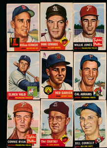 Scan of 1953 Topps  Set Builder Low Grade