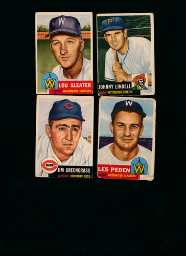 Scan of 1953 Topps  Set Builder High Number P-VG