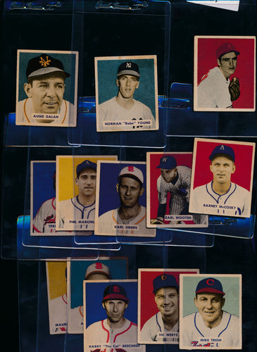 Scan of 1949 Bowman  Set Builder Low Grade