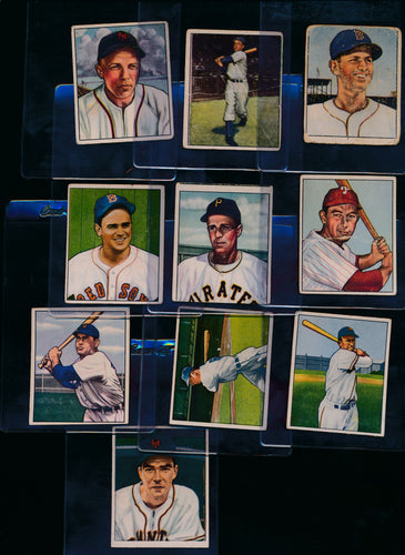 Scan of 1950 Bowman  Set Builder Low to Mid Grade