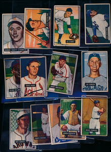 Scan of 1951 Bowman  Set Builder Low Grade