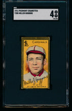 Load image into Gallery viewer, Scan of 1911 t205 Gold Border  Miller Huggins SGC 4 VG-EX
