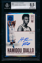 Load image into Gallery viewer, Scan of 2018-19 Panini Encased 160 Hamidou Diallo BGS 8.5/10