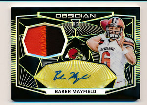 Scan of 2018 Obsidian  Baker Mayfield