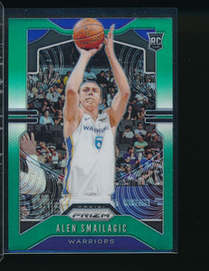 Scan of 2019-20 Panini 299 Alen Smailagic Pack-Fresh