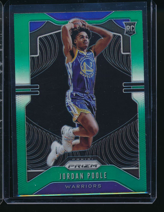 Scan of 2019-20 Panini 272 Jordan Poole Pack-Fresh