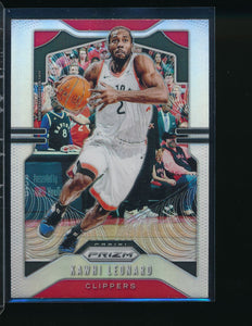 Scan of 2019-20 Panini 149 Kawhi Leonard Pack-Fresh