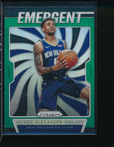 Scan of 2019-20 Panini  Nickeil Alexander-Walker Pack-Fresh