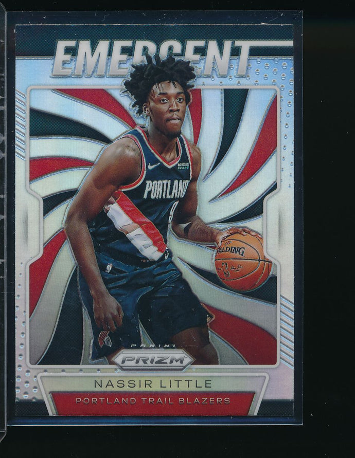 Scan of 2019-20 Panini  Nassir Little Pack-Fresh