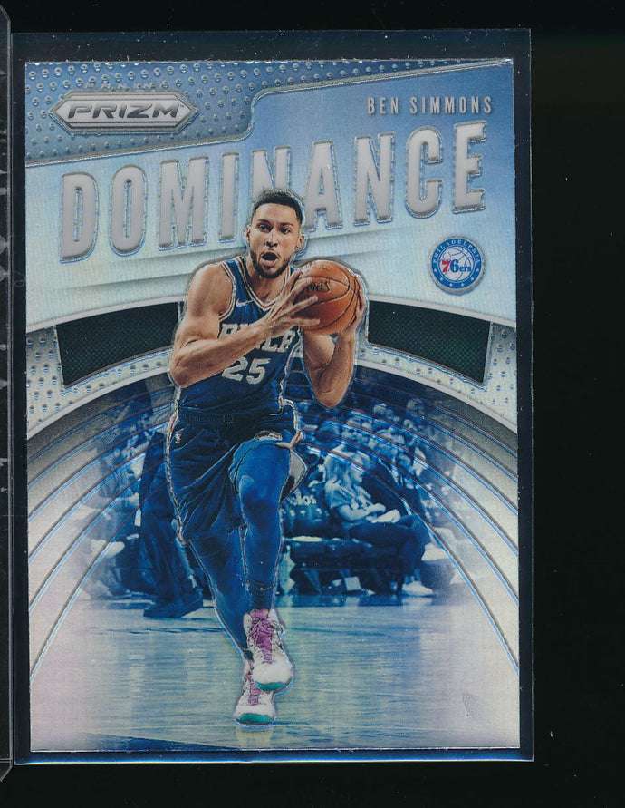 Scan of 2019-20 Panini  Ben Simmons Pack-Fresh