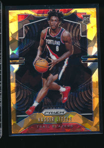 Scan of 2019-20 Panini  Nassir Little NM-MT+